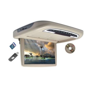 12.1 inch roof mount monitor dvd player celling monitor usb mp5