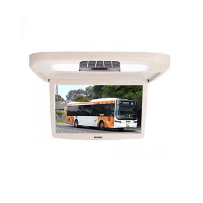18.5 inch flip down roof mounted celling monitor for bus