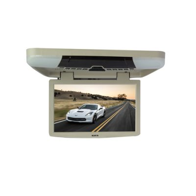 bus monitor 15.6 inch celling roof mount flip down car monitor