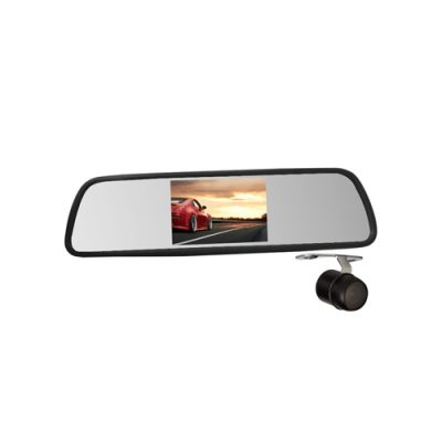 4.3inch car rear view mirror with camera