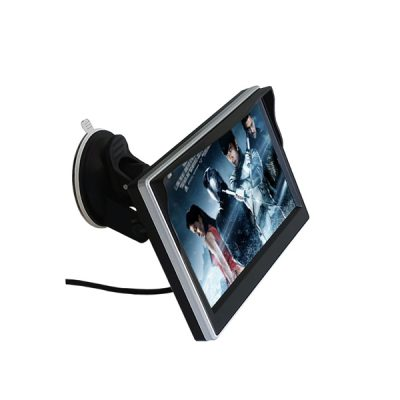 5 inch stand-alone car monitor with suction cup bracket
