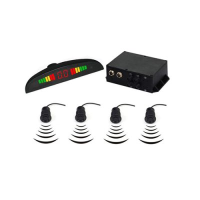 24V Truck Backup Parking Sensors Kit LED Display
