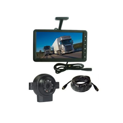 24V 9 inch car monitor backup rear view car camera system