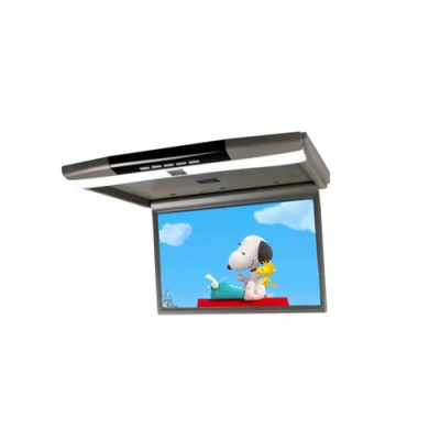 15.6 inch flipdown roof mount monitor with USB/SD/FM/MP5/HDMI