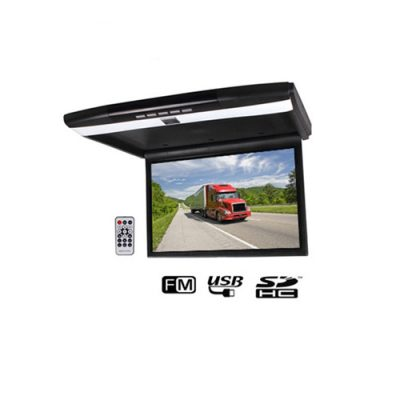 overhead fllip down 17.3 inch roof mount car monitor