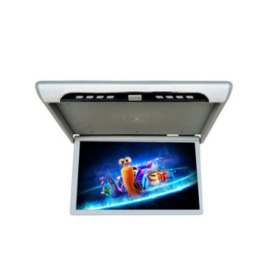 19 inch flip down car roof mount monitor with USB/SD/MP5/HDMI