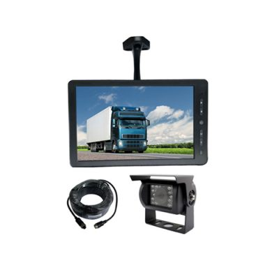 rear view backup camera system with 10.1 inch HD monitor