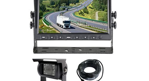 rear view backup car camera system with 7 inch car monitor