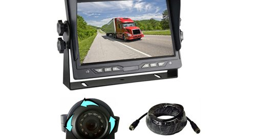 backup rearview car camera system with 7 inch car monitor